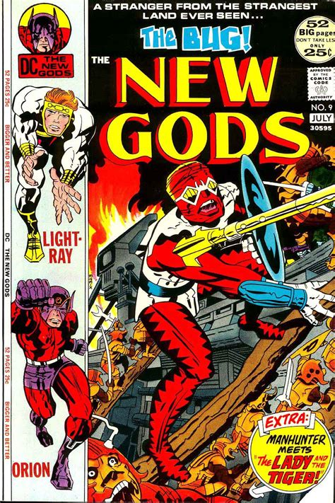 nine basic arts classic reprint books new gods 9 kirby cover reprint pencil ink