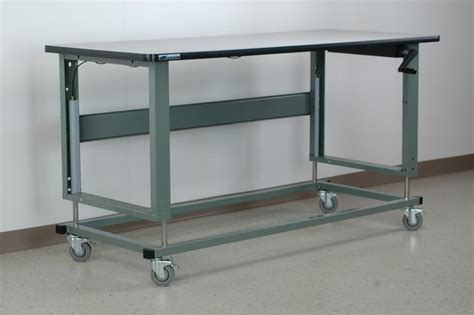 mobile work bench stackbin workbenches 2500 series mobile workbench