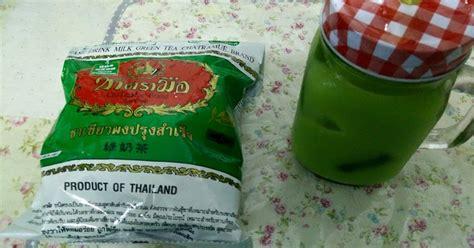 Teh Hijau Thailand saidatulshyd teh hijau thailand berjaya penuhi citarasa