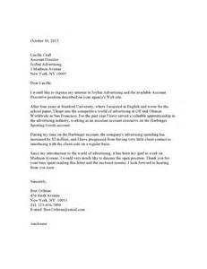 advertising cover letter exle update 7926 advertising cover letter exles 36