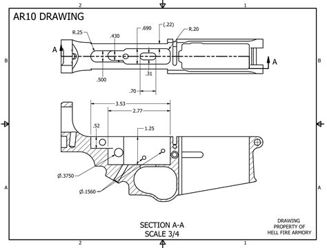 Kyle Cutting Sticker Colt M16 hell armory the weapons rifle ar build board