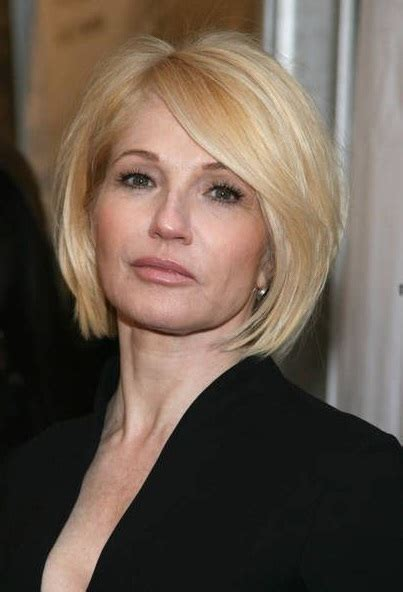 bob over 50 round face recommended short haircuts for women over 50 with round