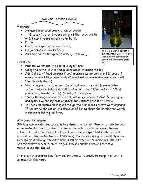 lava l science experiment science projects best science projects and pennies on