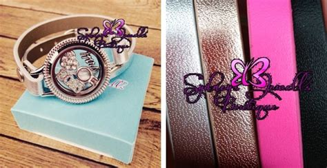 Customized Floating Locket Wrap Bracelet with FOUR charms!   Jane
