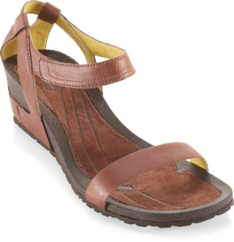 teva cabrillo wedge leather sandals s rei