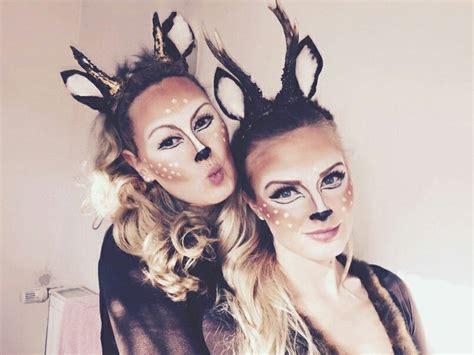 reh kostuem deer costume selfmade halloween deer
