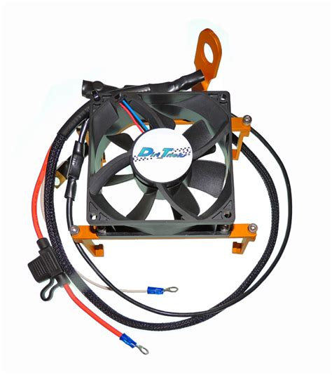 Ktm Thermo Fan Dirt Tricks Ktm Cooling Fan Auto Thermo Controlled Orange