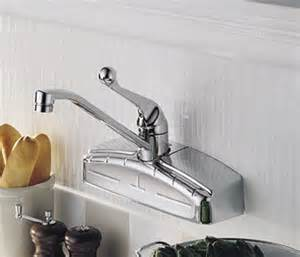 delta wall mount kitchen faucet delta kitchen faucet with spray 440 wf faucets