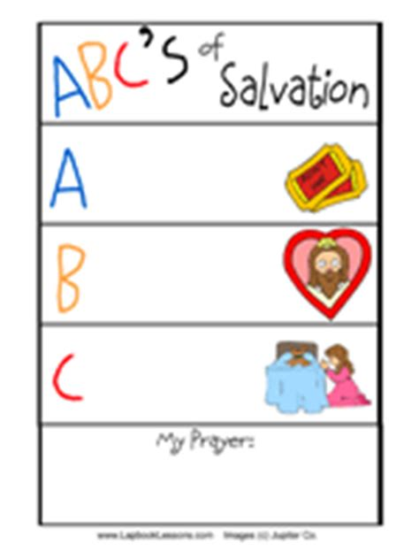 printable abc s of salvation new testament bible crafts