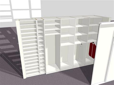 schlafzimmer ohne schränke eine schrankwand mit gleitt 252 ren unikate mit