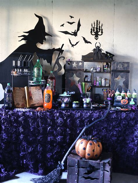 witch themed decorations throw a crafty witch themed