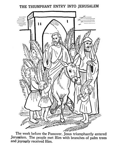 coloring pages palm sunday easter 1000 images about children s liturgy on lent