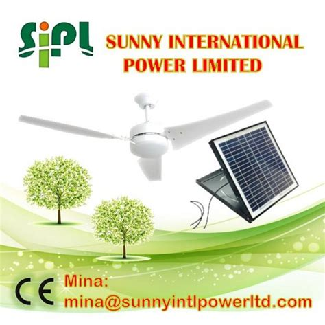 compare price 60in ceiling fan on statements ltd 60 inch 30 watt solar panel powered solar ceiling fan id