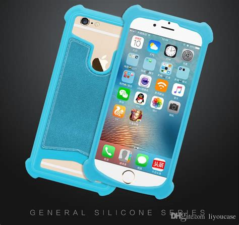 universal silicone phone cases soft elastic stretch general cell cover  iphone