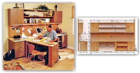 home office furniture plans woodarchivist