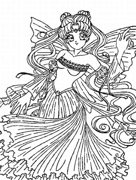 coloring pages sailor moon printable free coloring pages