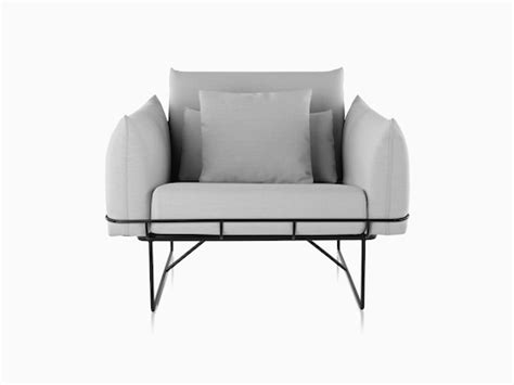 Kursi Herman Miller herman miller wireframe sofa refil sofa