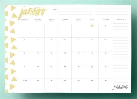 Calendario Aã O 2018 25 Melhores Ideias Sobre Calend 225 Rios Mensais No
