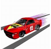 Animated Clip Art Race Car