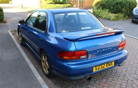 subaru terzo for sale used 1998 subaru impreza terzo turbo for sale in hshire