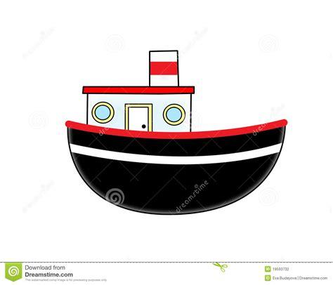 cartoon boat sound cartoon boat stock photography image 19593732