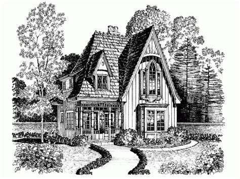 Gothic Revival Home Plans | eplans gothic revival house plan victorian details
