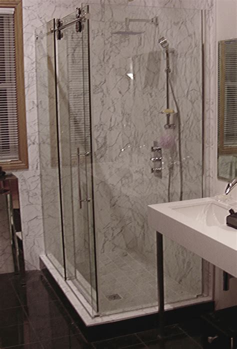 Kinetic Shower Door Kinetik Frameless Rectangular Shower Artistcraft