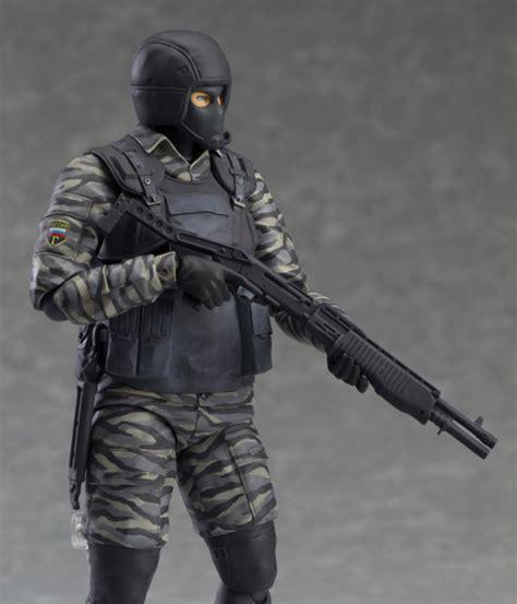 Figma Gurlukovich Soldier 298 Metal Gear Solid 2 Liberty photos and details of figma mgs2 gurlukovich soldier