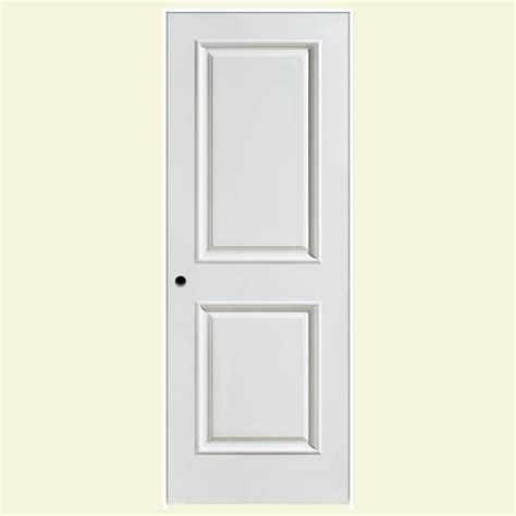 Masonite 36 In X 80 In Palazzo Capri Smooth 2 Panel Masonite Prehung Interior Doors