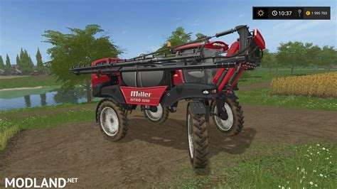 miller ls miller nitro 5250 sprayer mod farming simulator 17