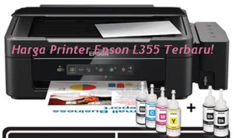 Printer Epson L300 Ink With Original Infus harga printer epson l355 dengan sistem infus terbaru dahlan epsoner