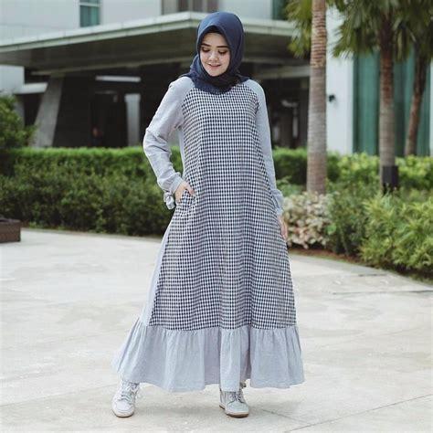 Diskon Dress Pakaian Wanita Dress beli murah harga diskon baju original gamis reglan dress