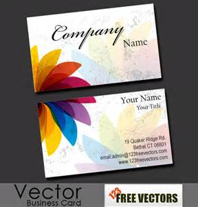 Business Cards Design Templates Free Download 50 Free Business Cards Templates Vector And Psd Files