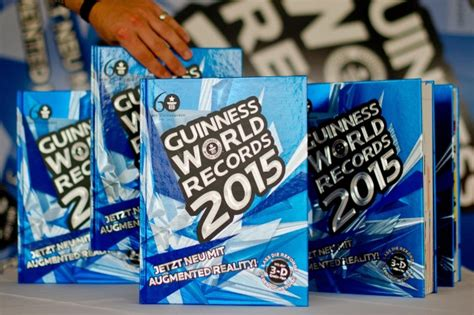 libro guinness world records 2015 libro de r 233 cords guinness cumple 60 a 241 os