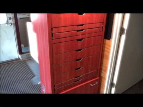 Home Interior Lights Home Built 12 Drawer Tool Box Lights Amp Electric Outlets