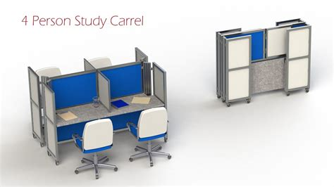 Holder Mobil Univ 2 Frame M Sahmou2fms study carrel for sale study carrels study carrels 100 carrel desks georgetown single study