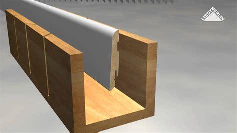 Couper Angle Plinthe by D 233 Couper Et Poser Des Plinthes Avec