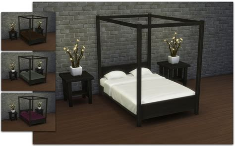 sims  blog modern  poster double bed  ignorantbliss