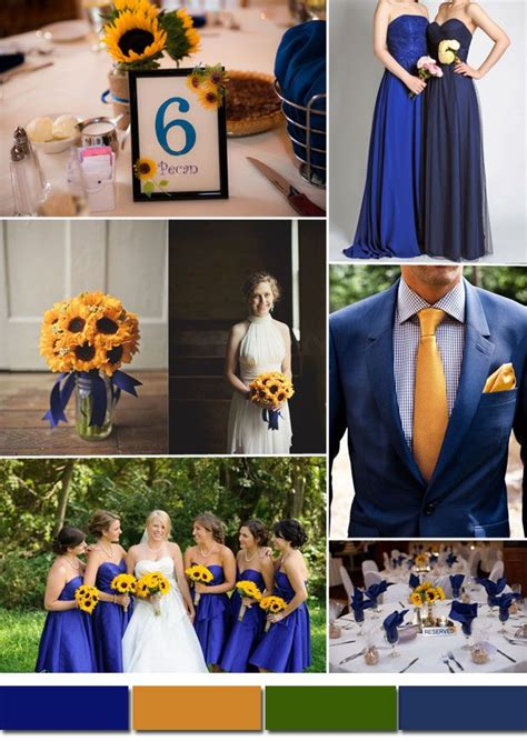 wedding colour themes bridesmaid dresses etc classic royal blue wedding color ideas and bridesmaid