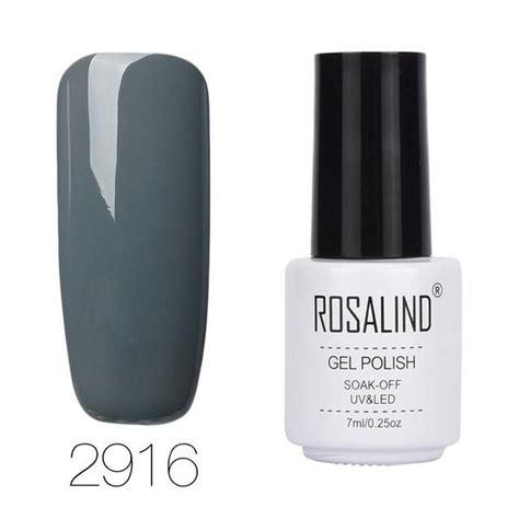 rosalind ml pure color series gel nail polish nail art