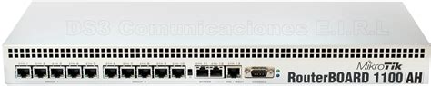 Router Mikrotik Rb1100ah routerboard con 13 puertos gigabit ethernet mikrotik rb1100ah