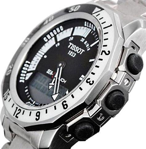 Tissot Sea t026 420 11 051 01 tissot sea touch black mens quartz