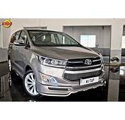Modified Toyota Innova Crysta Headlamp Grille Bumper In Images