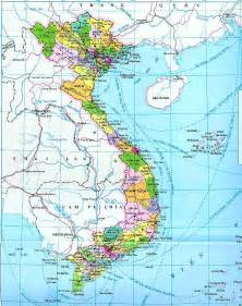 Vietnam On World Map by Vietnam Map Political Regional Maps Of Asia Regional