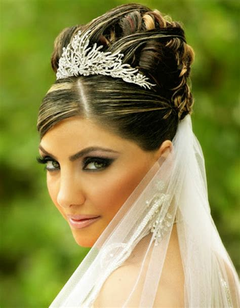 Hochzeitsfrisur Krone by Arabische Hochzeitsfrisuren Genie 223 En Sie Die Sch 246 Nheit