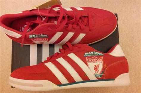 adidas liverpool world s only liverpool fc adidas samba trainers listed on