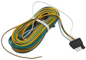 35 ft wishbone 4 way trailer wiring harness with 42 quot ground wire optronics wiring a35w42b
