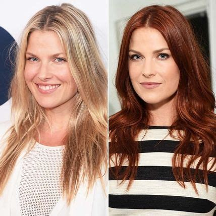 actress dyed hair red for role 7 best celebrity makeovers we love images on pinterest