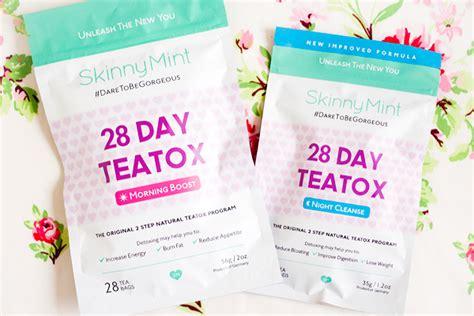 Skinnymint 28 Day Detox by Sparklyvodka Skinnymint 28 Day Ultimate Teatox