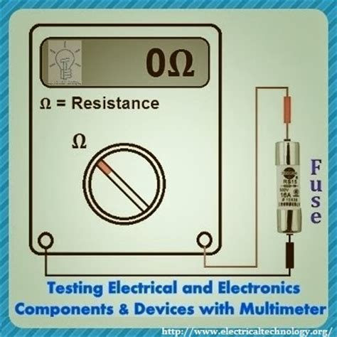 test capacitor analog multimeter how to test electrical electronics components with multimeter